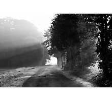 Light rays in the morning Photographic Print