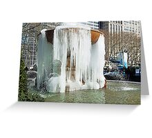 BABY IT'S COOooLD OUTSIDE!!! Greeting Card