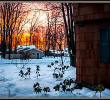 Sunrise on Tinker Tavern by Mikell Herrick