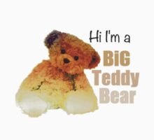Hi I'm a Big Teddy Bear (Clean) by Vicmt