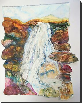Waterfall in the Glen by Susan Duffey