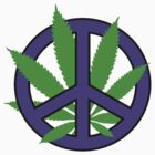 Cannabis - Peace by GrassPass