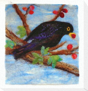 Hungry Blackbird by Susan Duffey