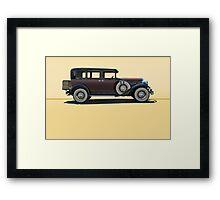 1930 Franklin Airman 145 Deluxe Sedan w/o ID Framed Print