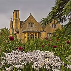The Flower Border - Hidcote by vivsworld