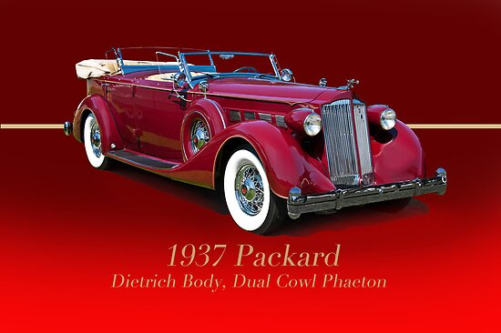 1937 Packard Dual Cowl Phaeton w/ID by DaveKoontz