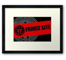 Fringe Division - Fringe Site Framed Print