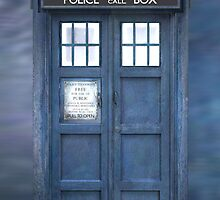 Doctor Who The TARDIS iPhone Case by Design-Magnetic