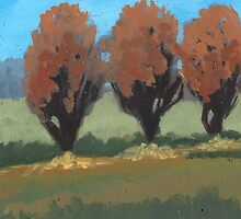 Orange Trees by sivieriart