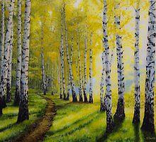 Path to autumn by Veikko  Suikkanen