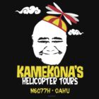 Kamekona&#x27;s Helicopter Tours logo from Hawaii 5-0 S3 by Sharknose