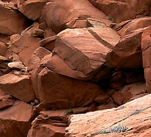 layers of rocks by thvisions