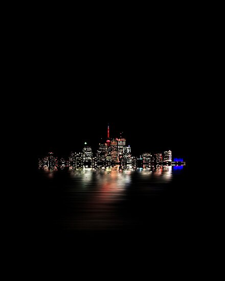 Toronto Flood No 3 My Island by Brian Carson