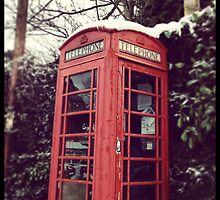 British Phone Box by weegoodie