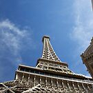 Eiffel tower Las Vegas by thvisions