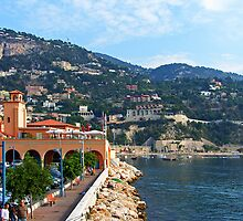 Villefranche Waterfront by Tom Gomez