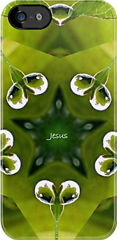 Jesus - iPhone - iPod Case by aprilann
