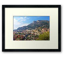 Monaco Framed Print