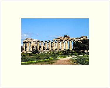 "Temple Of Hera - Temple ""E"" by jules572"