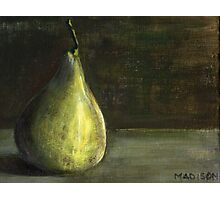 Pear, still life 2013 Photographic Print