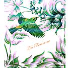 Bird in flight - Illustration iPad Case  by LjMaxx