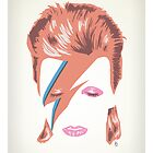 David Bowie: Aladdin Sane by peopleinspandex