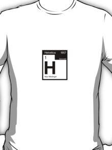 Helvetica Periodic Logo 2 (in black) T-Shirt