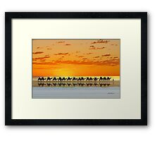Cable Beach, Broome Framed Print