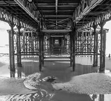 Under the Pier | Blackpool by scottsmithphoto