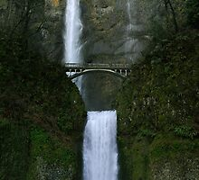 Multnomah Falls by Heather Haderly