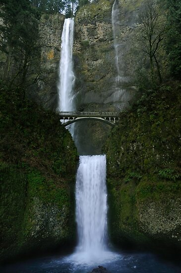 Multnomah Falls by Heather Haderly