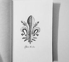 Fleur de lis by Ashli Amabile