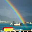 End of the rainbow by Mark Walker
