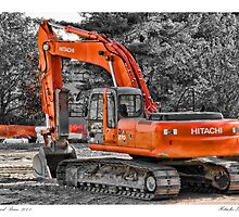 Hitachi Zaxis 270 by Richard Bean
