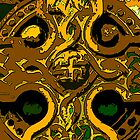 Celtic Cross gold by Errne