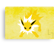 Jolteon Canvas Print