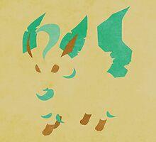 Leafeon by jehuty23