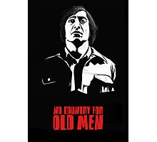 Anton Chigurh (Javier Bardem) No Country For Old Men  Photographic Print