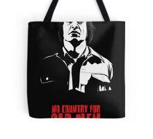 Anton Chigurh (Javier Bardem) No Country For Old Men  Tote Bag
