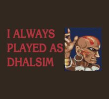 Street Fighter 2 Memories DHALSIM by Jamie Meakin
