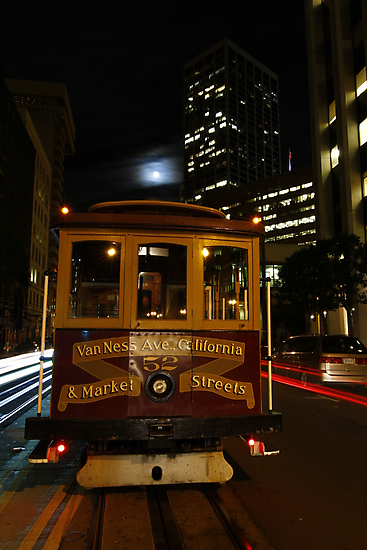 California & Market End of the Line by fototaker