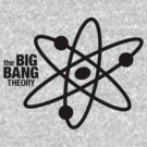The Big Bang Theory Atom Logo 1 (in black) by electricFIELD