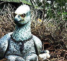 Buckbeak the Hippogriff by hhndoll
