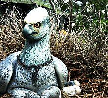 Buckbeak the Hippogriff by hhndoll