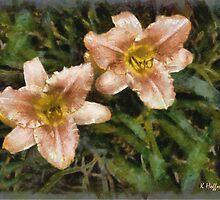 Peach Ambrosia by Kenneth Hoffman
