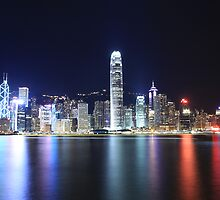 Hong Kong Lights by Ursula Rodgers Photography