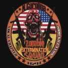 N.Carolina Zombie Extermination Squad (Upper rt shoulder) by TheNastyMan
