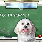 Bark to School by starlitestudio