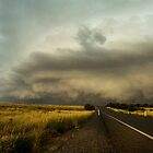 Shelf Cloud - Murrumbateman, NSW by Troy Barrett