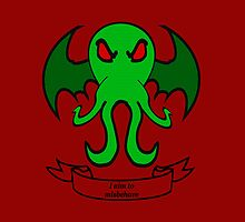 Cthulhu  - Aim to Misbehave by DavinciSMURF